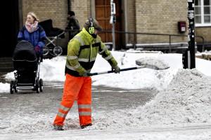 Snerydning SLAGELSE i Danmark